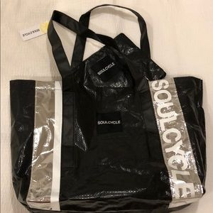 Soul Cycle Tote w/ Removable Pouch